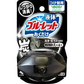 小林製薬 液体ブルーレットおくだけ つけ替用 心なごむ炭の香り 70ml