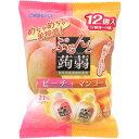 オリヒロプランデュ ぷるんと蒟蒻ゼリーパウチ ピーチ+マンゴー 20g×12個