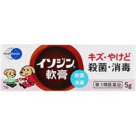 【第3類医薬品】シオノギヘルスケア イソジン軟膏 5g