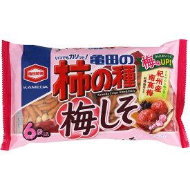 亀田製菓 亀田の柿の種梅しそ 182g