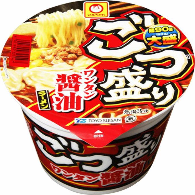 東洋水産 マルちゃん ごつ盛り ワンタン醤油ラーメン 117g