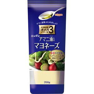 日本製粉 アマニ油入り マヨネーズ 200g