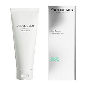【資生堂】SHISEIDO メンフェイス クレンザー 洗顔 顔 ウオッシュ しせいどう 男性用 メン 脂浮き べたつき 肌荒れ 毛穴 汚れ