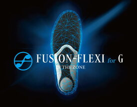 FUSION-FLEXI for G【フュージョン フレキシ フォー ジー】プロ選手に支持されるインソールゴルフ スポーツ インソール 衝撃吸収 中敷き シューズ バドミントン バスケットボール トレイルラン