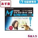 【B】【動物用医薬品】マイフリーガード犬用M(10〜20kg)1.34ml×6個ピペット【あす楽対応】