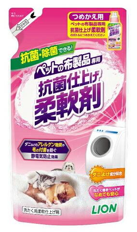 LION ペット用品の抗菌仕上剤 つめかえ用 300g