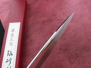 白鋼本焼桜花鏡面仕上柳刃包丁9寸(270mm)