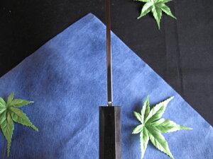 源泉正[IZUMIMASA]青鋼本焼鏡面仕上鎌形薄刃包丁7寸(210mm)