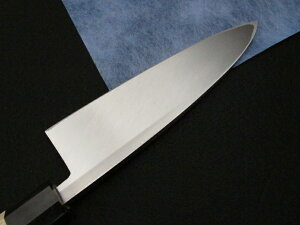 源泉正[IZUMIMASA]白鋼本焼出刃包丁6.5寸(195mm)