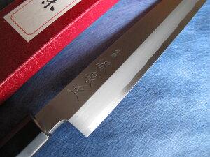 青鋼本霞柳刃包丁尺寸(300mm)