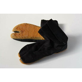 子供用 地下足袋 クッション入り 白・黒 20cm 21cm 22cm 23cm 23.5cm じかたび たび履き口はお子様一人でも履きやすいマジックテープです。色:白 黒<地下足袋靴下付>