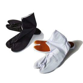 ゴム底 足袋 4枚こはぜ色:白、紺サイズ:21cm〜28cm素材:表 ポリエステル65%・綿35%裏:綿100%底:天然ゴム