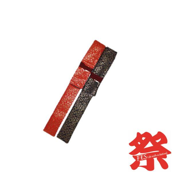 祭笛袋 単品赤金蘭・紺金蘭