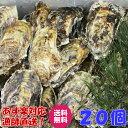 あす楽対応!牡蠣 送料無料!20個 宮城県産 殻付き 牡蠣 殻付き 牡蠣 殻付 1個牡蠣 加熱用 かきカキkaki 一粒牡蠣 松…