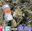 あす楽対応!牡蠣 SS8kg(約160粒)クール送料無料!宮城県産 殻付き 牡蠣 殻付き 無選別牡蠣 牡蠣 殻付 カキ 加熱用 …