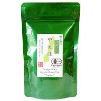 種子島の有機緑茶『やえほ』茶葉(リーフ)100g松下製茶