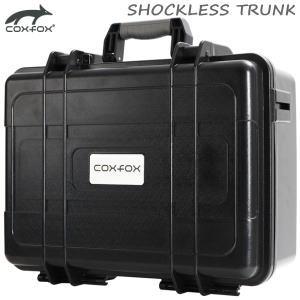 カメラバッグ ショックレストランク 容量20L 耐衝撃 防水ハードケース coxfox GTC-23 カメラ機材収納 ブラック 代引不可
