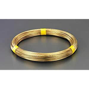 2.6mmx 22m /#12 真鍮線(1kg) エスコ EA951AE-2.6