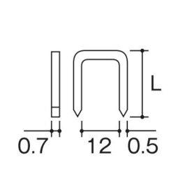 ステープル ハイコーキ BF1213