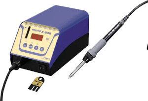 デジタル小型温調式はんだこて 2極接地プラグ 白光 FX838-01