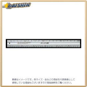 アルミカッター定規 ステン鋼付 カット師 60cm併用 目盛 W左基点 シンワ測定 No.65086