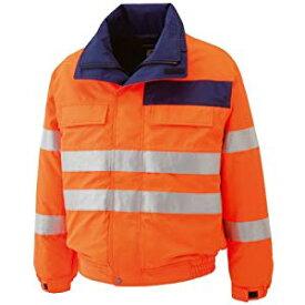 高視認性 防水帯電防止防寒ブルゾン オレンジ 3L ミドリ安全 SE1135-UE-3L