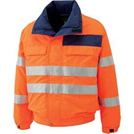 高視認性 防水帯電防止防寒ブルゾン オレンジ 5L ミドリ安全 SE1135-UE-5L