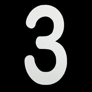 ロードマーキング ナンバーS 3 新冨士バーナー RM-103