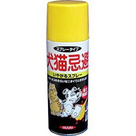 犬猫忌避いやがるスプレー 420ml イカリ消毒 #205041