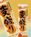 【送料無料】麦焼酎 麦盛り25°1800ml ケース販売です。一部地域北海道300円・沖縄1000円送料かかります。