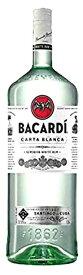 【1500mlサイズ】バカルディ ホワイト 正規1ケース6本入のケース販売になります。