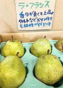 ラ・フランス 長野県産【野菜セット同梱で送料無料】