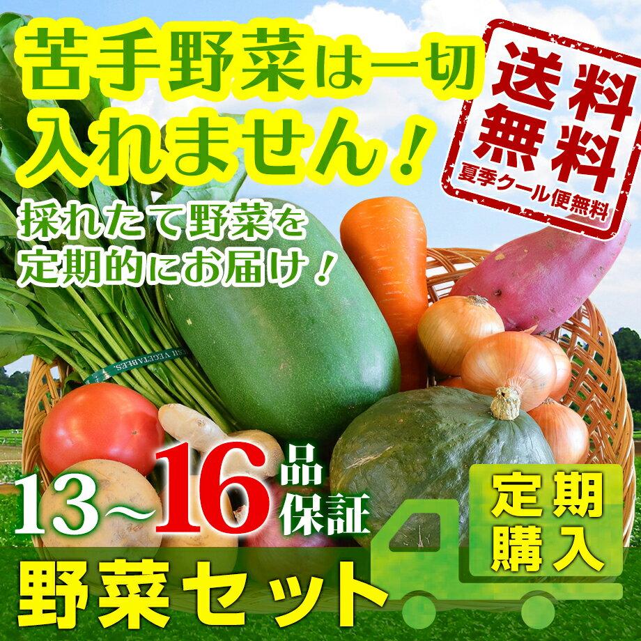 野菜セット定期購入 13〜16品保障