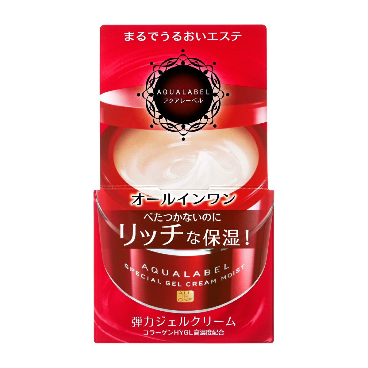 【在庫有、即納】アクアレーベル スペシャルジェルクリーム (モイスト)