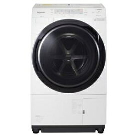 パナソニック NAVX300AL-Wドラム式洗濯乾燥機 「ななめドラム洗濯乾燥機」 (洗濯10.0kg /乾燥6.0kg・左開き)クリスタルホワイト