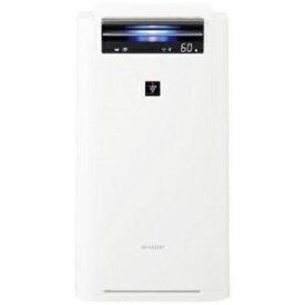 シャープ KILS50-W 加湿空気清浄機(空清23畳まで/加湿22畳まで)ホワイト系
