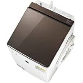 シャープ ESPT10D-T 縦型洗濯乾燥機 (洗濯10.0kg/乾燥5.0kg) ブラウン