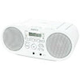 SONY CDラジオ ZSS40WC ホワイト系