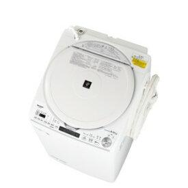 SHARP 縦型洗濯乾燥機 ES-TX8E-W