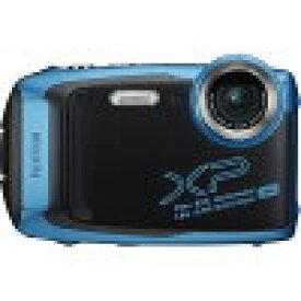 FUJIFILM コンパクトデジタルカメラ FinePix(ファインピックス) スカイブルー FXXP140SB