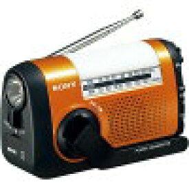 ソニー FM/AMポータブルラジオ ICF-B09 オレンジ(1台)