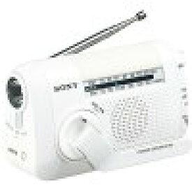 ソニー FM/AMポータブルラジオ ICF-B09 ホワイト(1台)