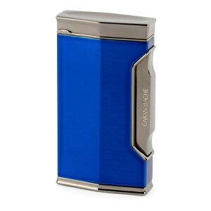 カランダッシュ ガスライター CD01-1102 バーナーフレーム 黒ニッケル/ダークブルー CARAN d'ACHE 在庫限り