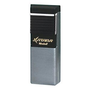 ウインドミル フラットフレームガスライター カタナ W08-0006 クロームヘアライン KATANA 在庫限り