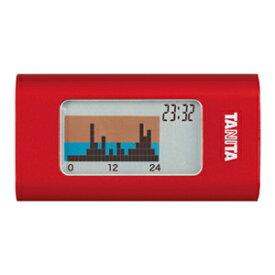 タニタ 活動量計 カロリズム AM-110-RD レッド 1日の総消費エネルギー量がわかる TANITA AM110