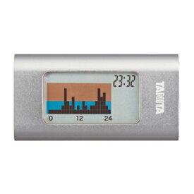 タニタ 活動量計 カロリズム AM-110-SV シルバー 1日の総消費エネルギー量がわかる TANITA AM110