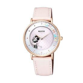 シチズン レグノ ミニーマウス ソーラーウォッチ KP3-163-10 限定モデル レディース腕時計 CITIZEN REGUNO Disneyコレクション 在庫限り