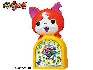 在庫限り セイコー 妖怪ウォッチ ジバニャン おしゃべり目覚まし置時計 SEIKO JF378A