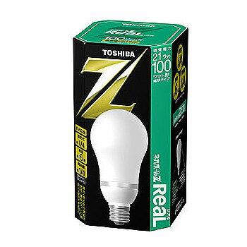 在庫限り 東芝 電球形蛍光ランプ 昼白色 100ワット形 EFA25EN/21-R ネオボールZリアル 電球型蛍光灯 TOSHIBA EFA25EN21R