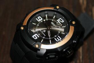 """丸萬塑膠""""丸萬塑膠""""無線電看格林威治格林威治男式手錶 MJW1031 GL1"""